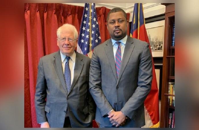 """Crise en Haïti: Garry Bodeau en visite chez le """"blanc"""" à Washington"""