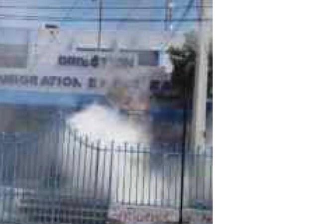 Tentative d'incendie de la Direction de l'mmigration, le MICT réclame des décisions en justice