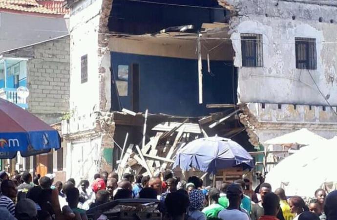 Cap-Haïtien: l'effondrement d'une maison fait deux blessés