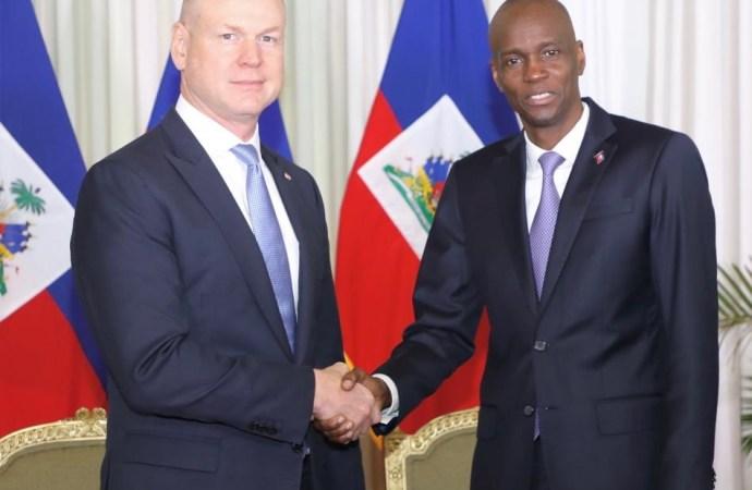 Stuart Savage, nouvel ambassadeur du Canada accrédité en Haïti