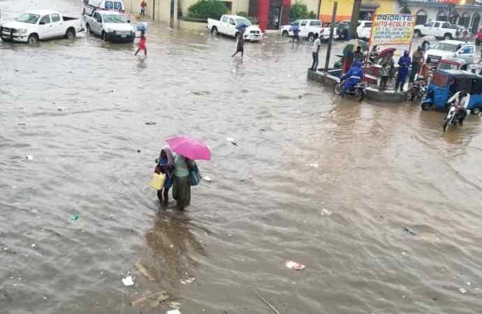 Intempéries: Cap-Haïtien sous les eaux