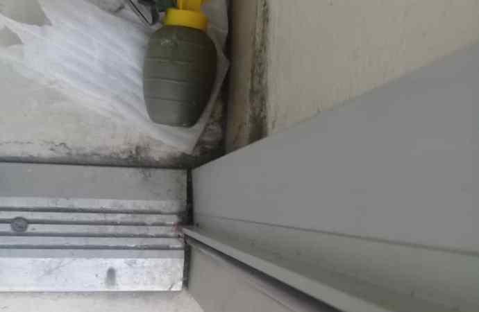 Une grenade à fragmentation retrouvée à la DGI