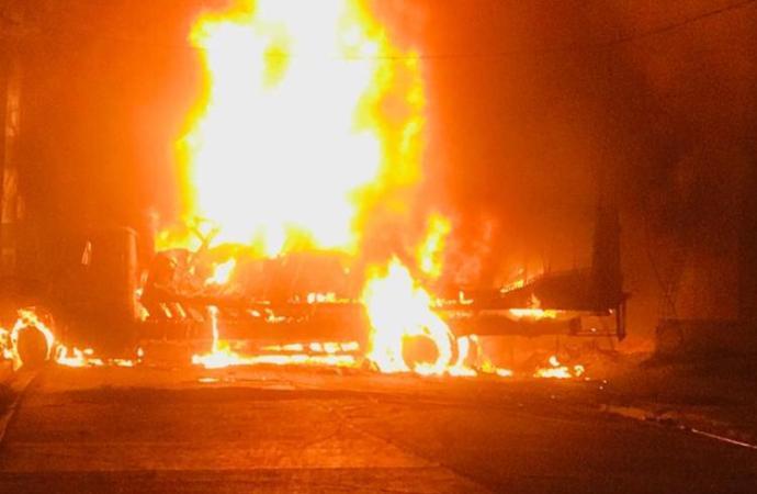 À Vertières : trois personnes brûlées vives dans un container