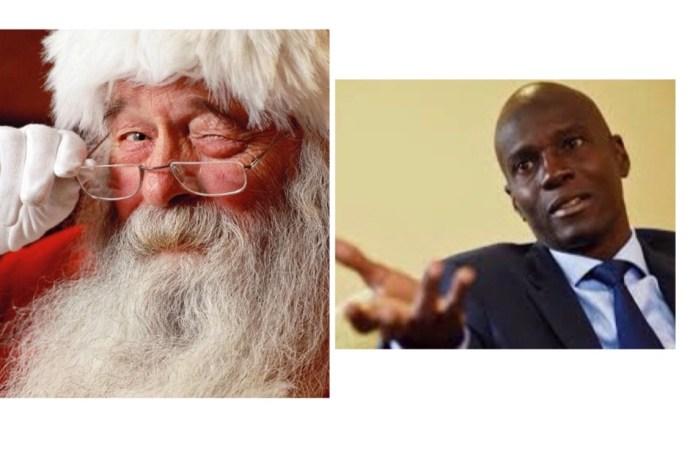 Éditorial :Quel cadeau Jovenel Moïse a-t-il reçu du Père Noël cette année?