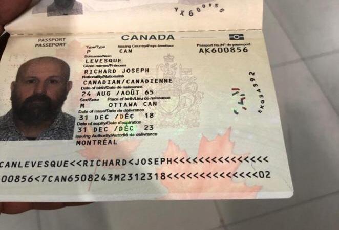 Un présumé chef de gang canadien arrêté  à l'aéroport international Toussaint Louverture