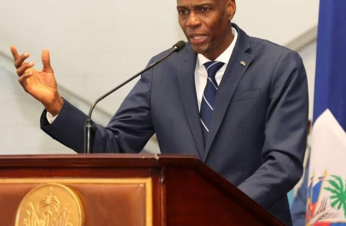 """""""L'union des haïtiens est le seul salut possible"""", croit Jovenel Moïse"""