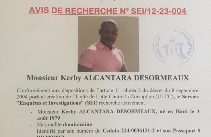 Arrestation de Kerby Alcantara Desormeaux