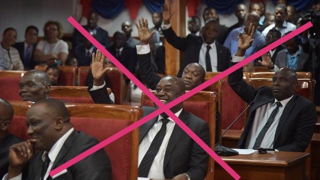 Haïti-Politique : 13 janvier 2020, veut ou pas ces parlementaires partiront !