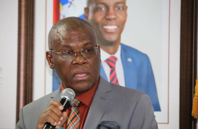 Joseph jouthe nouveau Premier ministre