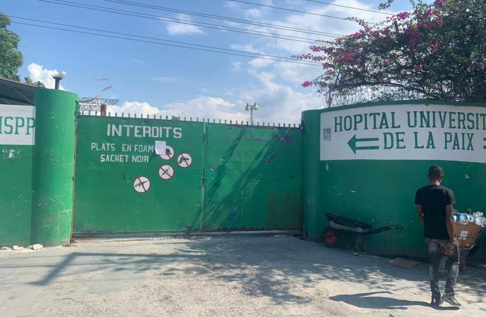Haïti-santé: la grève se poursuit au sein de certains hôpitaux publics