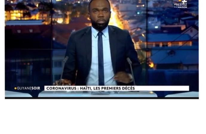 """Coronavirus: """"Haïti, les premiers décès"""", un titre erroné de Guyane la 1ère"""