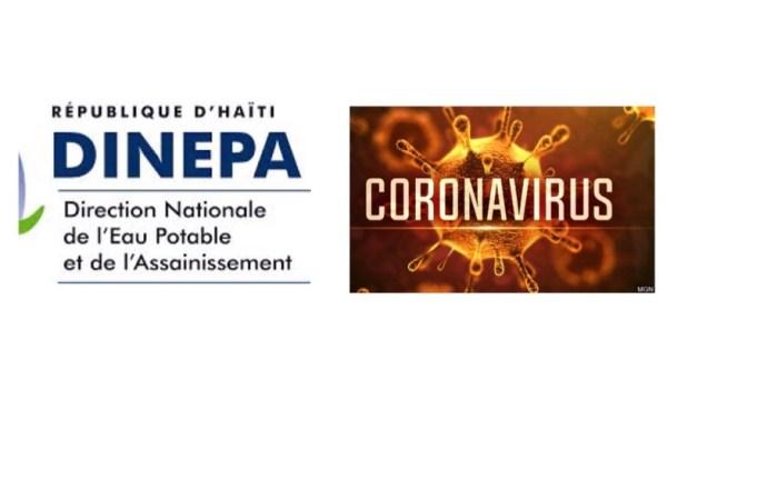 Haïti-Coronavirus : DINEPA et son rôle pour aider à contenir la maladie