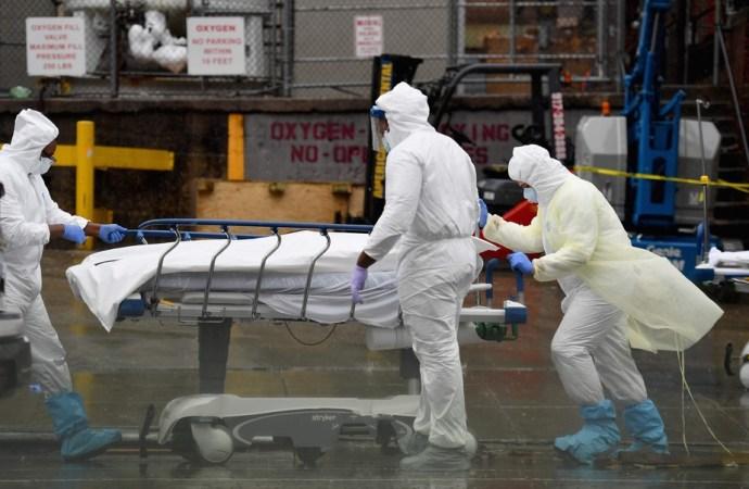 COVID-19: record de plus de 2100 morts aux États-Unis en 24 heures