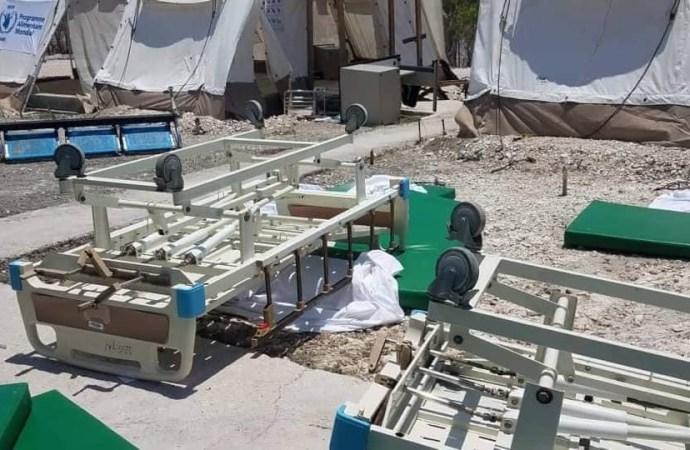 Tension aux Gonaïves : des employés du service ambulancier mécontents
