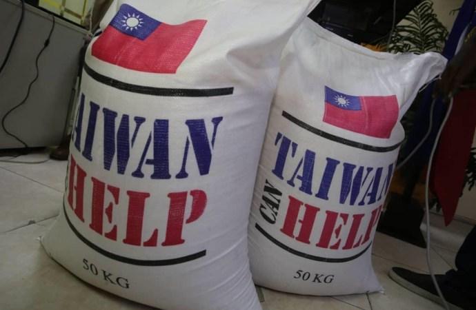 Coopération: Haïti reçoit un don de 1000 tonnes de riz de Taïwan