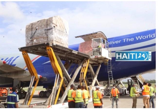 Coronavirus: Arrivage, ce jeudi matin d'une cargaison de matériels médicaux