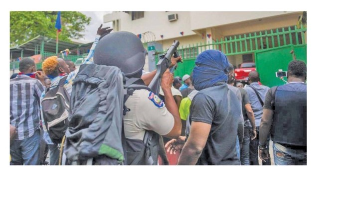 Manifestation annoncée de Fantom 509, la PNH prend des mesures