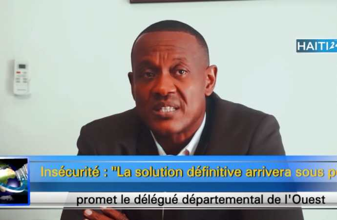 """Insécurité : """"La solution définitive arrivera sous peu"""", promet le délégué départemental de l'Ouest"""