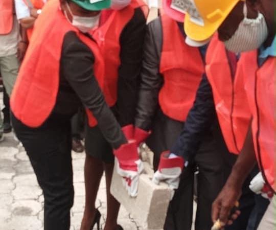Haïti-Education : pose de première pierre de deux lycées