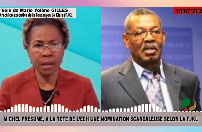 """Preuve à l'appui, Michel Présumé dément les """"accusations mensongères"""" du FJKL"""