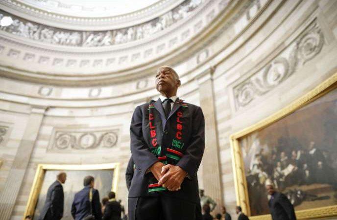 John Lewis, figure du mouvement des droits civiques aux Etats-Unis, est mort