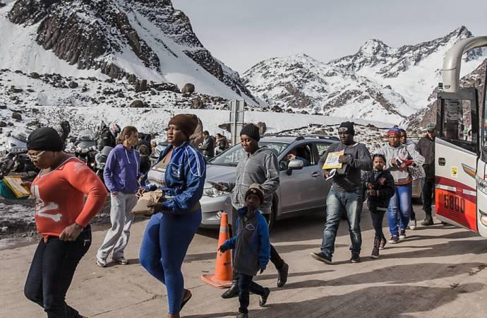 Chili-Coronavirus : Des Haïtiens en difficulté attendent une date de retour