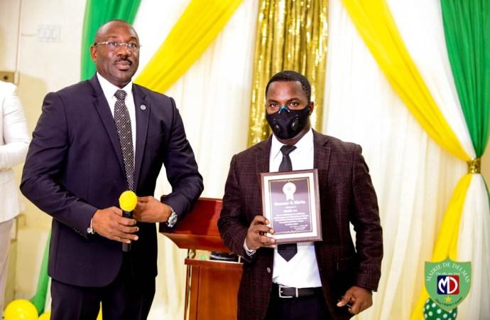 Coronavirus-Sensibilisation : Haïti 24 honorée par la Mairie de Delmas