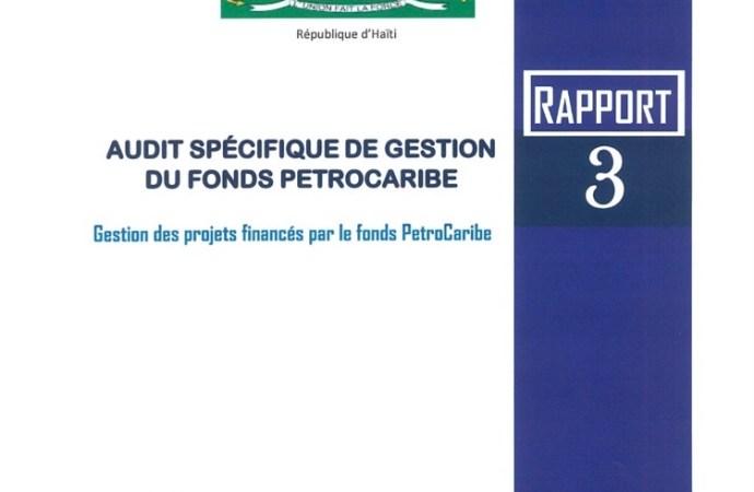 PetroCaribe : le président de la CSCCA a fait le dépôt du dernier rapport d'audit au Sénat