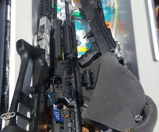 St-Marc : une cargaison d'armes à feu saisies, plusieurs personnes arrêtées