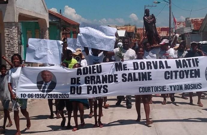 Justice pour Me Dorval : des habitants de Grande Saline s'en remettent à l'esprit vaudou » Agassou Arena «