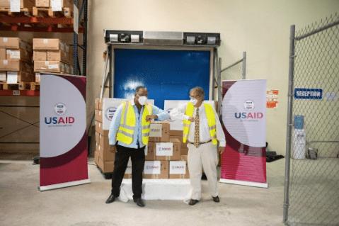 USA-Covid-19: Don de 37 respirateurs artificiels au gouvernement haïtien