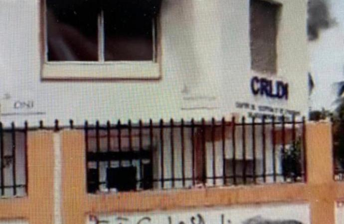 Le Centre de réception et de livraison de documents d'identité à Delmas 31 en feu !
