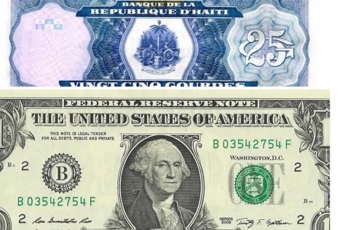 25 gourdes pour un dollar paraît possible, selon l'économiste Eddy Labossière