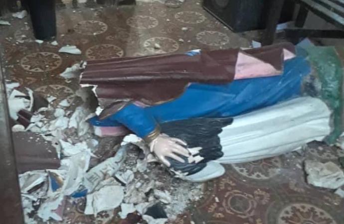 Vandalisme à la Paroisse Sainte Anne de Limonade