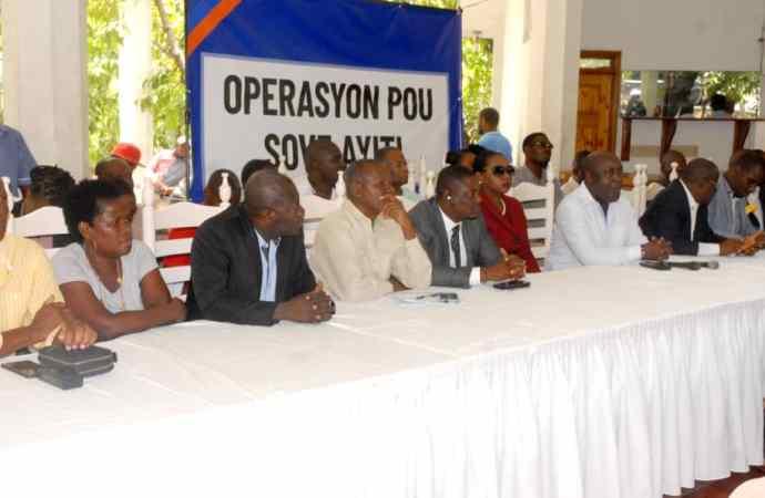 Discussions politiques : la DIRPOD n'a pas rencontré Jovenel Moïse