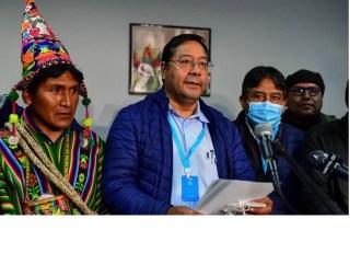 Luis Arce, nouveau président élu de la Bolivie