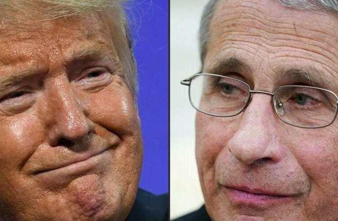 COVID-19: Trump s'en prend au Dr Fauci «et tous ces idiots»