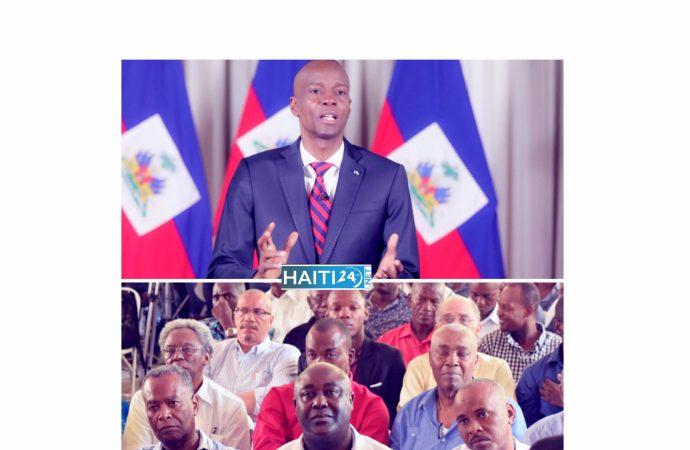 Rencontre programmée entre Jovenel Moïse et des partis de l'opposition dans moins d'une semaine