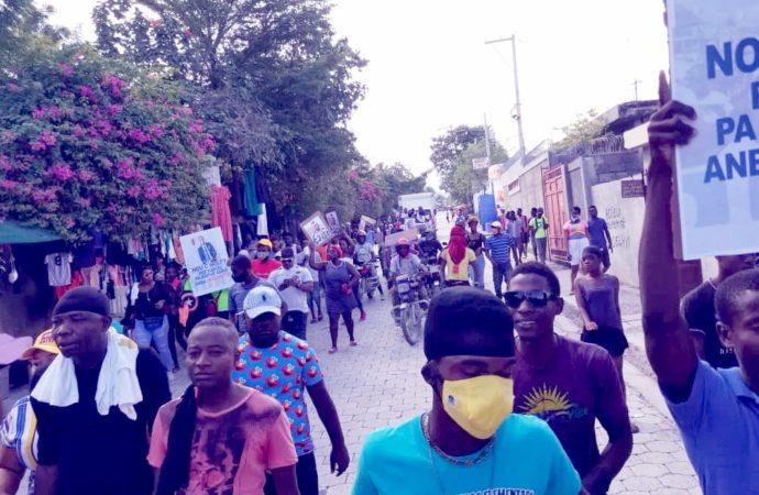 Insécurité : Consternés des habitants de Carrefour exigent la libération de Wolf Hall