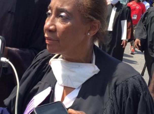 Marie Suzy Legros élue bâtonnière de l'ordre des avocats de Port-au-Prince