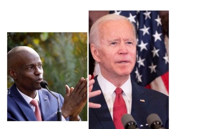 Jovenel Moïse salue la victoire de Joe Biden