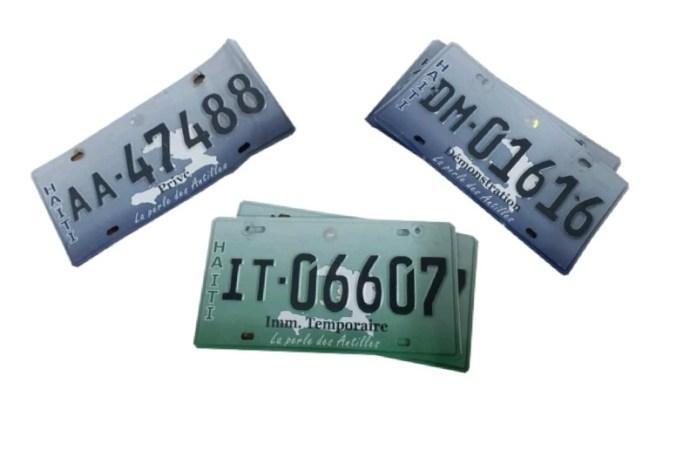 Sécurité : La DGI met des plaques à la disposition des propriétaires de véhicules privés