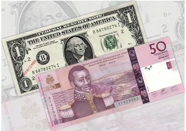 Taux de référence : la BRH affiche 63 gourdes pour un dollar