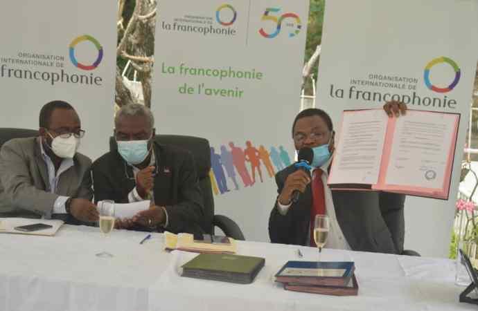 Renforcement du Centre de Lecture et d'Animation : l'OIF et le gouvernement haïtien s'engagent