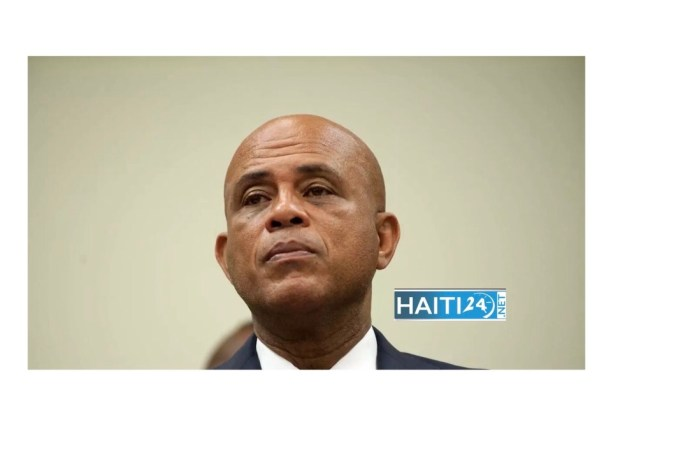 Michel Martelly testé positif au coronavirus