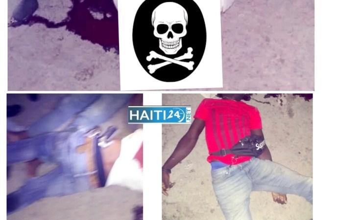 Pétion-Ville : 3 individus circulant à moto tués par balles, une arme à feu récupérée