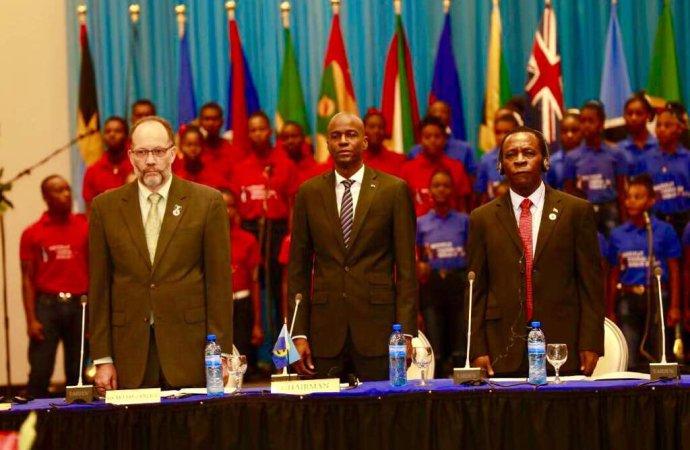 Changement de constitution : Jovenel Moïse sollicite le support de la CARICOM