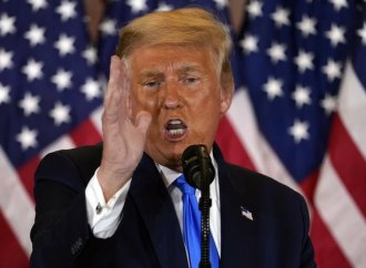 Donald Trump dit vouloir se représenter aux élections présidentielles de 2024