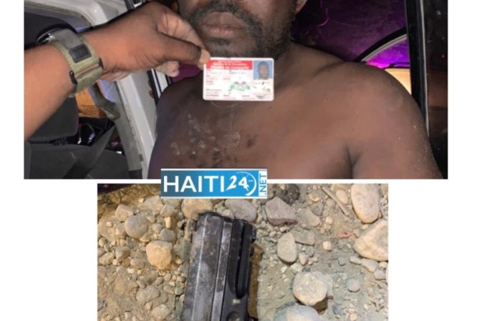 Tabarre-Sécurité : un homme arrêté en possession d'une arme de police