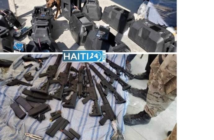 Sécurité : une importante cargaison d'armes à feu saisie par les forces de l'ordre au port Lafito